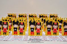 mickey and minnie girl invitations