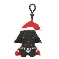Star Wars Darth Vader with Santa Hat Mini Talking Plush - Underground Toys - Star Wars - Plush at Entertainment Earth