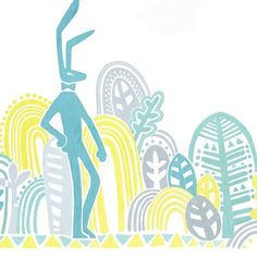 토끼아저씨? 토끼맨? #illustagram #illustration #drawing #doodling #cg #graphicdesign #mint #rabbit #forest #trees #leaf #grass #일러스트레이션 #일러스트 #일러스타그램 #드로잉 #두들링 #컴퓨터그래픽 #민트 #토끼 #숲 #나무 #풀 #잔디