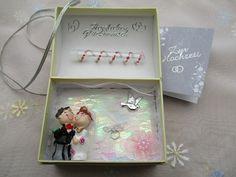 Geldgeschenke - Geldgeschenk-Truhenbox zur Hochzeit - ein Designerstück von Creativ-Shop bei DaWanda