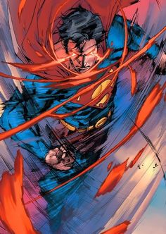 Superman l Man of Steel Marvel Comics, Arte Dc Comics, Dc Comics Art, Anime Comics, Superman Pictures, Superman Artwork, Mundo Superman, Batman And Superman, Superman Family