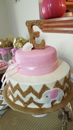 2nd baby shower cake for friend