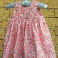 Little Geranium Dress - free sewing patterns - Baby Sewing Patterns