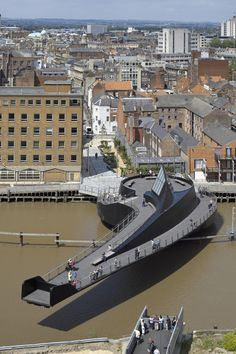 Hull's new Scale Lane Bridge by McDowell + Benedetti Architects