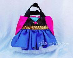 Cinderella Princess Tote Bag-Pink by WhitneyBoutique on Etsy