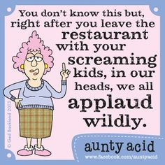 some kids just don't belong in restaurants...or maybe it's the parents that shouldn't be there in the first place!