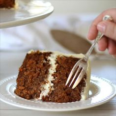 Fun Baking Recipes, Easy Cake Recipes, Sweet Recipes, Dessert Recipes, Mexican Food Recipes, Classic Carrot Cake Recipe, Carrot Cake Frosting, Homemade Carrot Cake, Desert Recipes