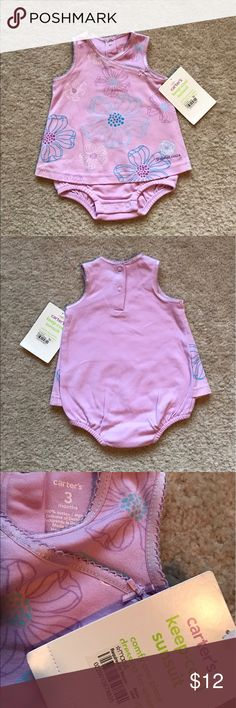 New comfy one piece sunsuit for 3 month baby. New comfy sunsuit for 3 month  baby. Carter's One Pieces Bodysuits