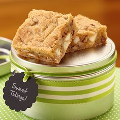 Browned Butter Blondies from Land O'Lakes