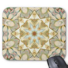 Vintage Flower  Mousepad