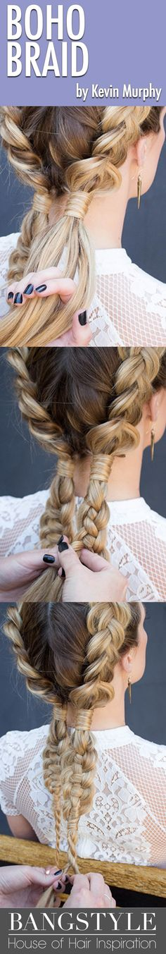 In this tutorial from stylist Brittany Craig, you can create three show-stopping looks (with an option for the beginner, intermediate, or advanced braider) from a simple Dutch braid base. Read on for her steps to perfect your new festival favourite!