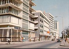 Barclays bank and Shell Petroleum buildings, Lagos (1960s-Early 1970s)