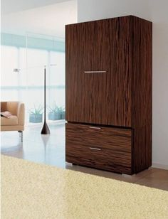 Best Tall Narrow Armoire Cabinet In Cherry Handmade Custom 640 x 480