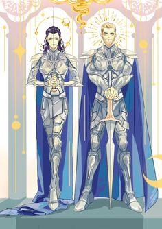 Knights by ayhmf