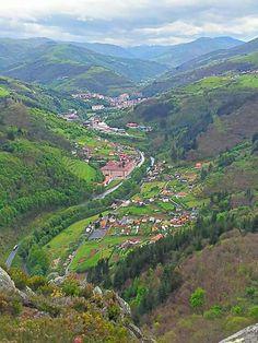 Vista de Corias y Cangas del Narcea