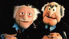Loved the muppet show! The two grumpy old men in the theatre were hilarious. Funny Christmas Messages, Christmas Humor, Statler And Waldorf Quotes, Les Muppets, Famous Pairs, Fraggle Rock, The Muppet Show, Grumpy Old Men, Piglets