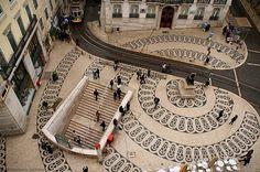 Rua Garrett! - Lisbon, Portugal
