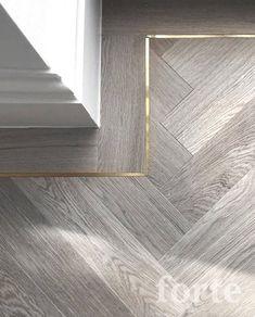 Foyer Flooring, Timber Flooring, Wood Floor Design, Tile Design, Home Interior Design, Interior Architecture, Elegant Homes, Home Renovation, Decoration