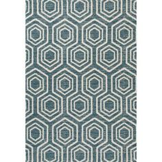 Contemporary Woven Area Rug with Geometric Design, 04