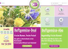 Seit Mitte Mai ist unser Shop www.DUFTGEMUESE.com online