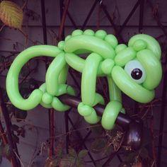 Balloon Animals Chameleon