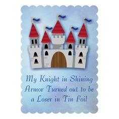 Shop Funny Divorce Party Invite Invitations created by AbbyFitzRitz. Divorce Party, Breakup Party, Party Invitations, Invite, Knight In Shining Armor, Divorce Humor, Gift Finder, Practical Gifts, Wedding Color Schemes