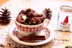 Rezept Weihnachtskekse Schokolade Orange, Panna Cotta, Tea Cups, Tableware, Ethnic Recipes, Food, Christmas Elf, Dulce De Leche, Dinnerware