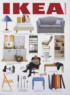 Every Ikea Catalog Cover Since 1951 Furniture Catalog, Furniture Ads, Unique Furniture, Kitchen Furniture, Furniture Removal, Vintage Furniture, Ikea Design, Swedish Interiors, Vintage Interiors