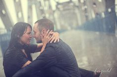 Engagement shoot in the rain!  Would be AMAZING to do a shoot in the rain someday!  <3