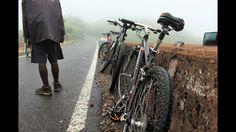 Cycling In The Rain At Nahargarh, Jaipur