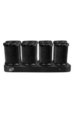 Free shipping and returns on T3 'Voluminous' Hot Rollers at Nordstrom.com. The Voluminous Hot Rollers set has been designed with proprietary tourmaline technology which emits maximum ionic, infrared heat to safely penetrate the hair shaft, effectively styling the hair from the inside-out while sealing the hair cuticle against frizz. The velvet flocking along the roller surface also enhances the effects of tourmaline, imparting natural shine to hair during the styling process.<BR><BR>Each ...