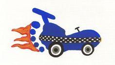 Footprint race car craft - first day of school idea for a race car theme classroom perhaps?