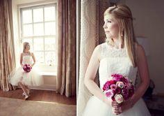 Kitty & Dulcie at Durham Castle ~ A Fabulous Fuchsia Filled Day Wedding Film, Wedding Blog, Dresses Uk, Flower Girl Dresses, Durham Castle, Karen, Second Weddings, I Dress, Kitty