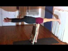 Eyal Shifroni. Iyengar Yoga: some more chair work... - YouTube