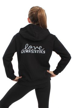 Love Gymnastics Sweatshirt | FlipNFit.com $34.99