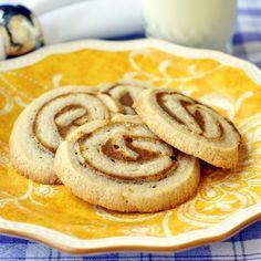 Pumpkin Pie Pinwheel Cookies