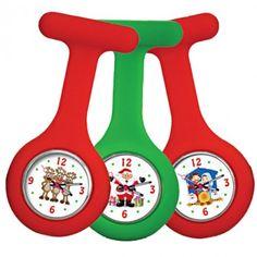 Christmas Theme Nurse Watch