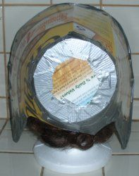 How to Make a Cardboard and Duct Tape Bonnet Funny Christmas Costumes, Christmas Humor, Toy Story Costumes, Diy Costumes, Quilt Patterns, Sewing Patterns, Crochet Patterns, Civil War Fashion, Bonnet Pattern