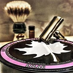 3/18/16 - Tribute to my Granny!! 3 things she loved most: Flowers Family and Fishing. :) @maggardrazors Lilac Semogue 1305 Gillette Heavy Tech Gillette 7 O'clock Yellow (6) @chatillonlux La Quatrième Ville  Wonderfully shave that started with a beautiful Lilac scent and ended with a magnificent melody of sweet woodsy powdery floral goodness!! Another great Aftershave!! #wetshave #wetshaveloyalists #srs #straightrazor #shave #love #shaving #ff #followme #guys #men #style #instapic #instagood…