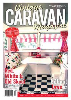 vinrage caeavan magazine | Vintage Caravan Magazine — Issue 12 Vintage Caravan Magazine