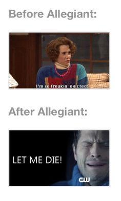 Yup ~Divergent~ ~Insurgent~ ~Allegiant~