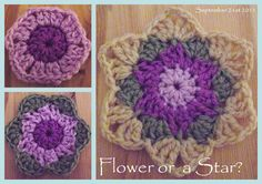 Suz Place: Crochet stars..Fill-ins and 'Join as you go' SC and another Crochet Star to play with