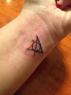 My Harry Potter tattoo. Using the 4 house colors. Thanks to Bob at Fantasy to Flesh!