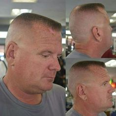 Slick Hairstyles, Short Bob Hairstyles, Hairstyles Haircuts, Hot Haircuts, Summer Haircuts, Flat Top Haircut, Shaved Head, Crew Cuts, Male Physique
