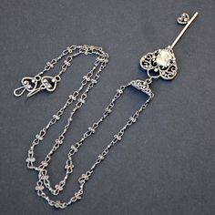Key to Your Heart - Sterling Silver Pendant Chain by Eire-handmade on DeviantArt