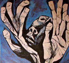 Oswaldo Guayasamín mãos