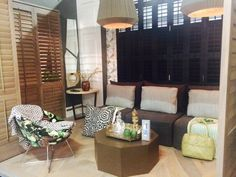Plantation #Shutters at the Port Elizabeth #HOMEMAKERS_Expo | Overall stand award winner for 2015