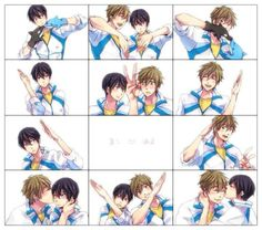 Haha, I ship it XD I also ship Haru with Rin. Haru x Makoto, Free!
