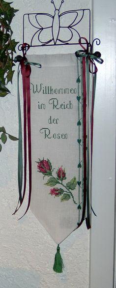 Im Reich der Rosen Design : Gerlinde Gebert Shop: www.gebert-handarbeiten.de