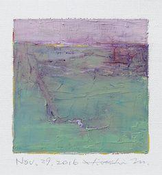 Nov. 29 2016  Original Abstract Oil Painting  by hiroshimatsumoto